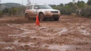 skoda yeti 4x4 in attart off road park