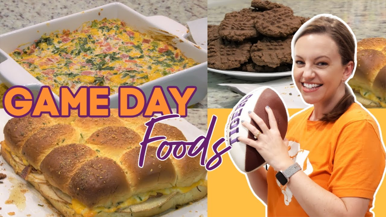GAME DAY FOODS | FOOTBALL FOOD | EASY GAME DAY RECIPES