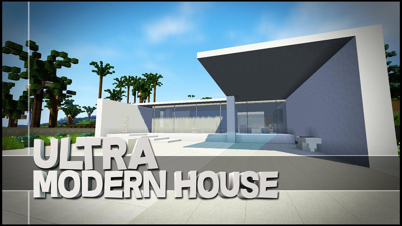 Minecraft Creative Showcase Ultra Modern House