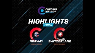 HIGHLIGHTS: Norway v Switzerland – Mixed Doubles – Curling World Cup leg two, Omaha, United States