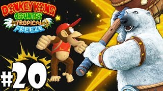 Donkey Kong Country Tropical Freeze Co-Op Bear Boss Bash PART 20 Wii U HD Gameplay Walkthrough Coop