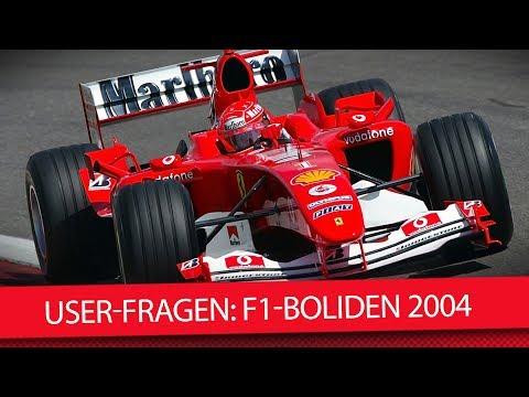 Formel 1 2018: Warum waren die F1Autos 2004 so stark? Q&A
