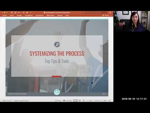 Knowledge^UP Session - Systemize FB Live and Have Content Every Week