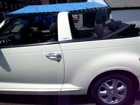 2005 Pt Cruiser Convertible White On Black