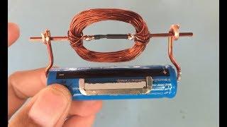 Basit bir DC motor yapmak nasıl