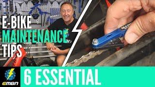 6 Essential E- Mountain Bike Maintenance Tips