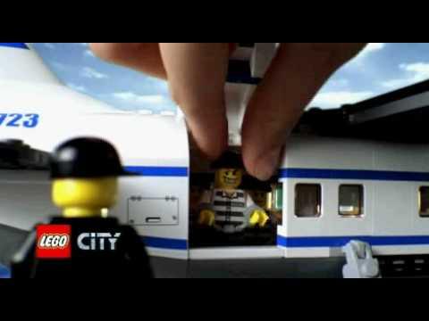 Lego city police plane - YouTube