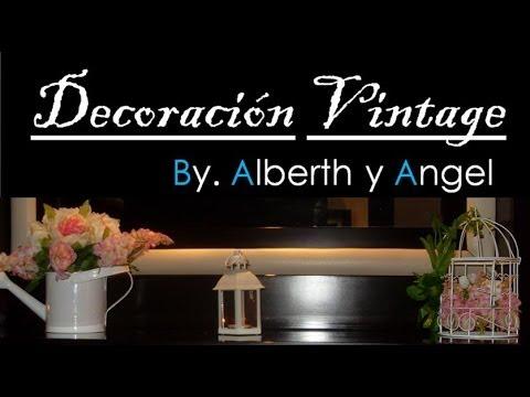 Diy decora tu hogar con 3 ideas vintage youtube for Decora tu hogar