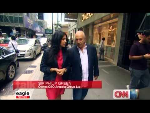 Eagle News [CNN | Talk Asia] - Sir Philip Green