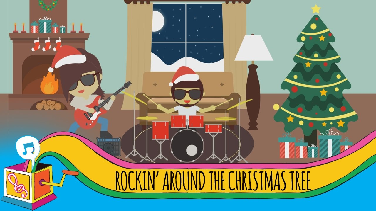 Rockin' Around the Christmas Tree   Children's Christmas Song - YouTube