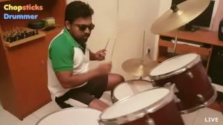 Major Lazer & DJ Snake - Lean On (feat. MØ) [Chopsticks Drummer Live]