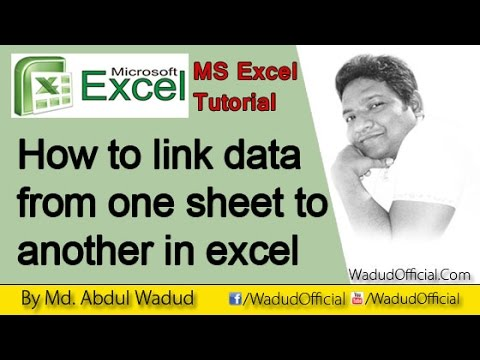 how to link excel data to pdf file
