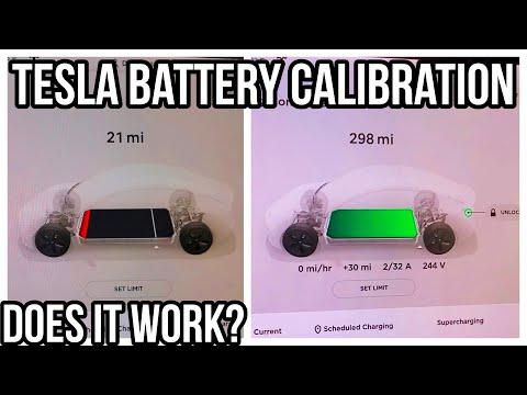 Tesla Battery Calibration