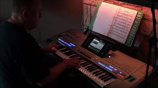 The Godfather Theme Song (cover by DannyKey) on Yamaha keyboard Tyros5