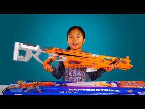 NERF Sniper Rifle RaptorStrike From Toys