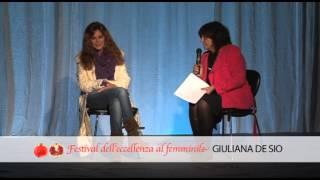 Giuliana de Sio: ritratto di donna e di artista