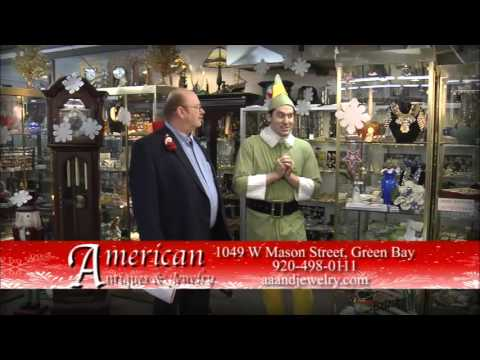 American Antiques and Jewelry Elf Christmas Commercial 30