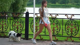 Pretty Russian Girls on a Normal Day in the City | Moscow and Saint Petersburg 2021