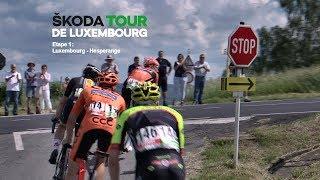 UCI SKODA Tour de LUXEMBOURG etape1 full broadcast ( HD ) 2018©