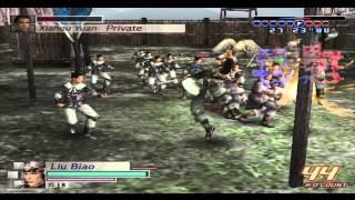 Dynasty Warriors 4 Empires: Generic Hero (Liu Biao) Gameplay
