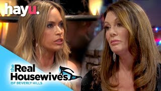 Teddi & Lisa Come To Blows After Texts Are Revealed | Season 9 | Real Housewives Of Beverly Hills