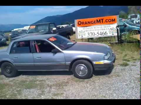 1991 Buick Skylark 817 For Sale Missoula Montana