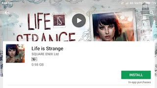Life is strange || for android || on play store || Hindi/Urdu || official on play store by gaming te