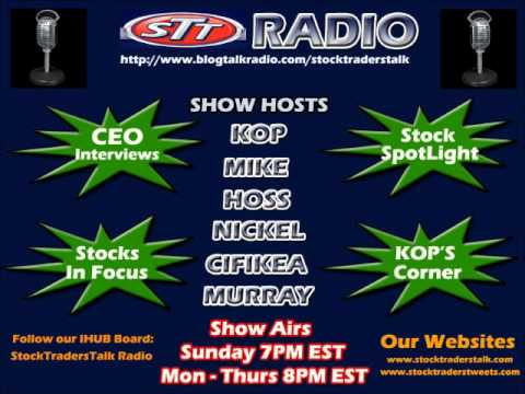 STT Radio 1/12/2012 BLAP CEO Interview