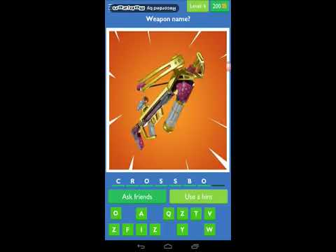 Fortnite Guess The Picture Quiz Level 1 2 3 4 5 6 7 8 9 10 Youtube