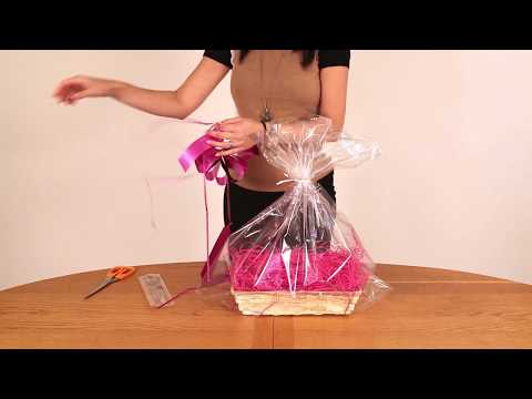 How To Wrap A Gift Basket | Your Gift Basket
