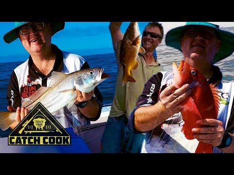 Boat fishing for kob and red roman curry braai | catch cook | Mosselbay, South Africa