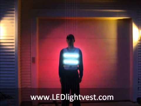 Led Light Vest