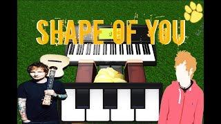 Roblox Piano - Shape of You de Ed Sheeran