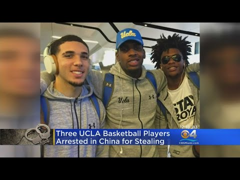 Three UCLA Basketball Players Arrested In China, Accused Of Shoplifting