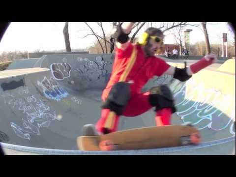 Action Man Breaks His Arm Skateboarding And Goes Back For More