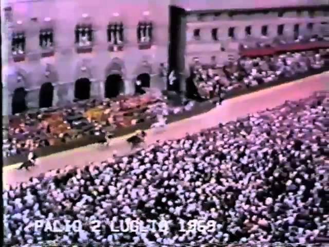 Palio 2 luglio 1969