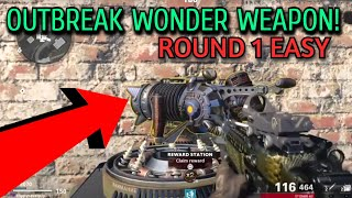 (ROUND1!) HOW TO GËT THE WONDER WEAPON ON OUTBREAK CALL OF DUTY ZOMBIES OUTBREAK MODE!