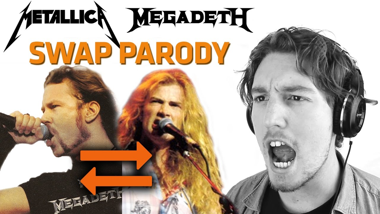 metallica megadeth voice swap parody part 1 youtube. Black Bedroom Furniture Sets. Home Design Ideas