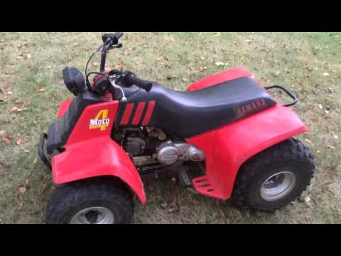 100 dollar craigslist find yamaha moto 4 80 finished youtube for Yamaha moto 4 80 for sale