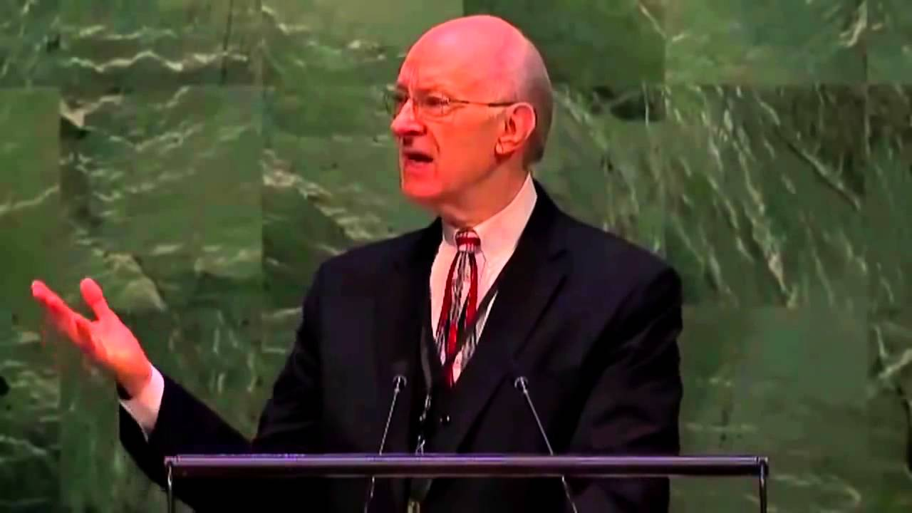 Lee Stoneking Raised from Dead - United Nations General Assembly Address