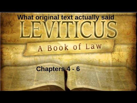 Part2-AMAZING DISCREPANCIES! Original text Bantu bible vs English bible - Leviticus