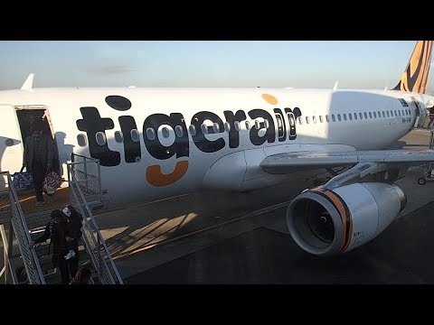 Tiger Airways (Tigerair) Melbourne To Sydney A320