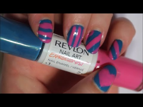Revlon nail art expressionist how to youtube revlon nail art expressionist how to prinsesfo Images