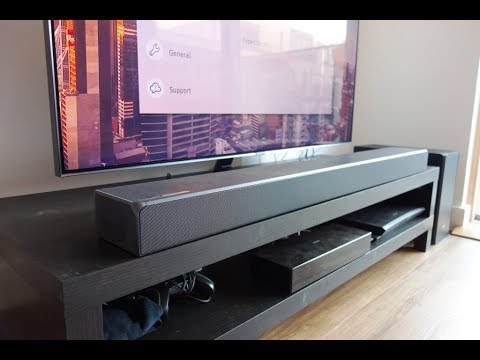 Samsung Hw N850 Review The Best Soundbar With Dolby Atmos Dts X By Totallydubbedhd Youtube
