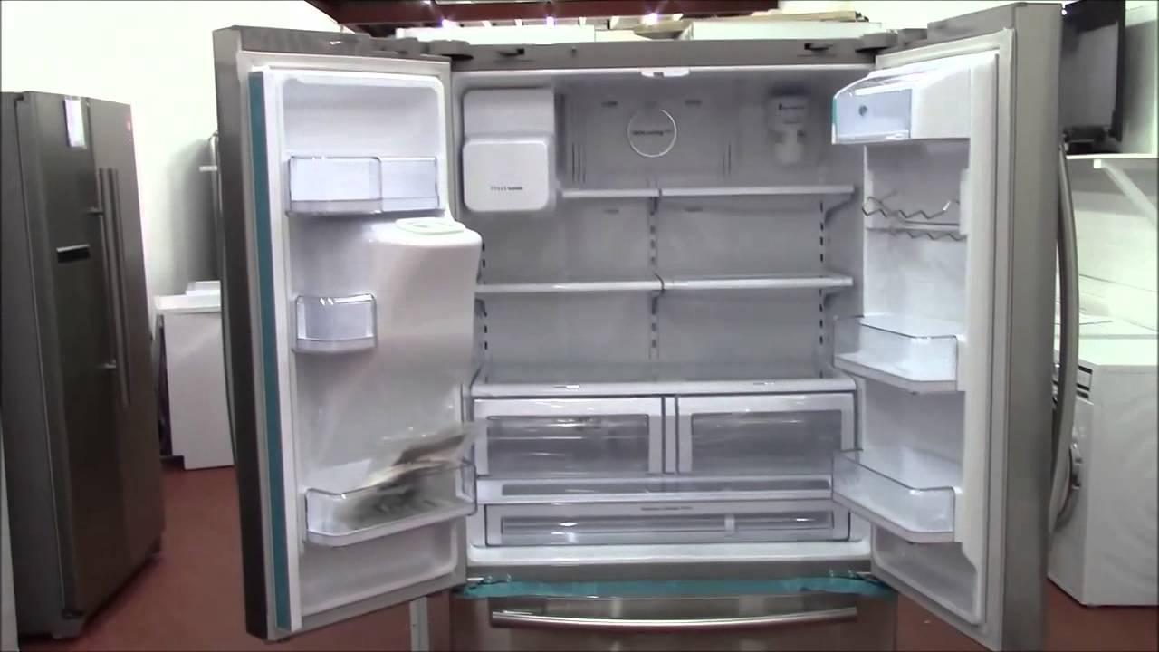 Samsung Rfg23uers G Series Three Door Refrigerator Youtube