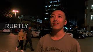 China: Beijing residents react to new US import tariffs