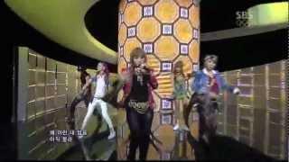 2NE1_0715_SBS Inkigayo_I LOVE YOU
