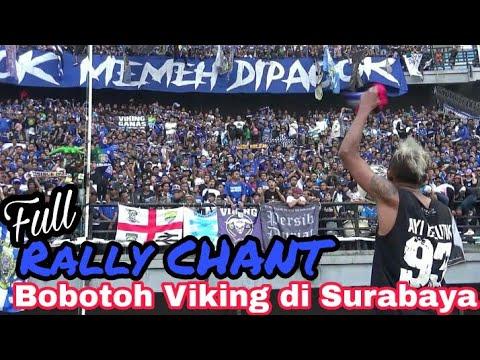 Berisiknya Ribuan Bobotoh Viking Persib Bersuara Di Stadion GBT Surabaya   Persebaya Vs Persib