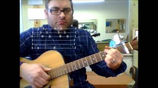 "How to play ""One Thing"" by Finger Eleven on acoustic guitar (With Tab)"