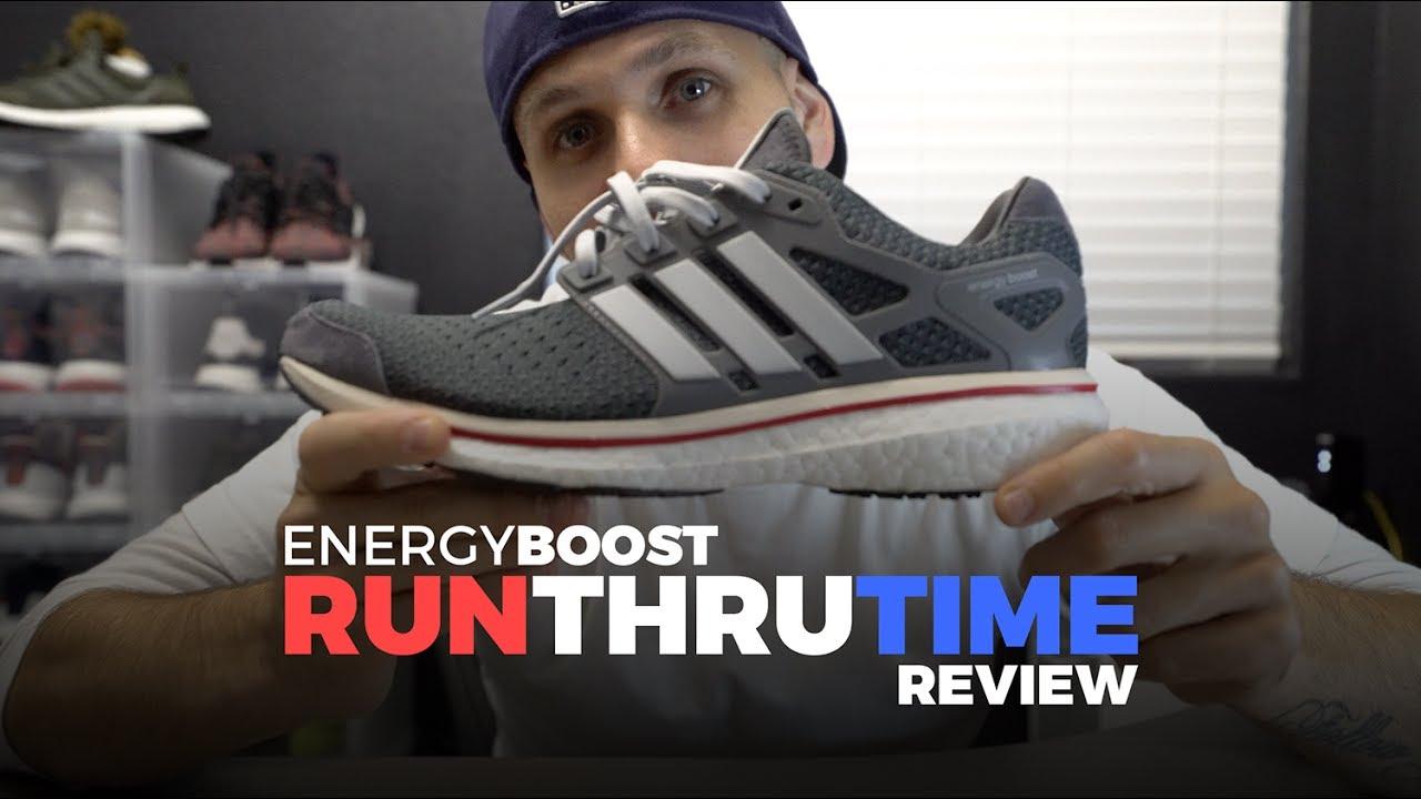 brand new 990d4 1bb39 ADIDAS RUN THRU TIME ENERGY BOOST REVIEW